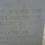 Lines written by W.B. Yeats for Maud Gonne, now carved in stone outside Drumcliffe Church in Sligo