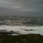An Atlantic storm  seascape off the Sligo coast, Spring 2013