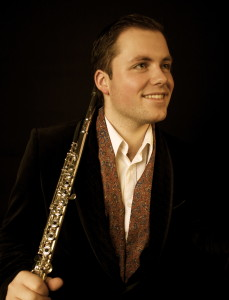 Robert Tobin, from Carlow, currently studying silver flute in Zurich, joins the group for the winter concerts