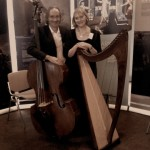 Catherine Rhatigan and Dave Aebli, Irish harp and   Double Bass