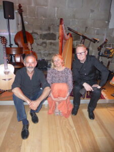 Tale of the Gael Trio: Dave Aebli, Catherine Rhatigan and Brendan Wade, Schloss Gruenningen, MAy 2017